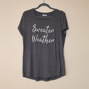 Maurices Sweater Weather T-shirt
